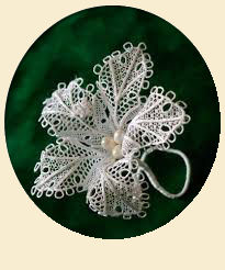 Flower style hairclip