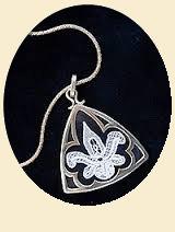 Tirangle pendant